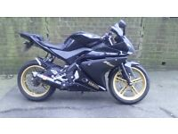 R125 Mint Condition FSH Akrapovic R&G Crash Protectors New Pirelli tyres and much more