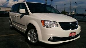2012 Dodge Grand Caravan Crew, Navigation, One Owner, Full Stow,