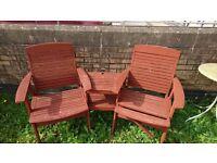 Garden chair - table set!