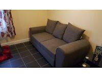 Grey Sofa Bed - good condition