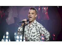 2 face value Robbie Willian's tickets for Friday 2nd June at the Etihad stadum manchester.