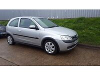 VAUXHALL CORSA 1.2 STARTS AND DRIVES GREAT MOT CHEAP TAX AND INSURANCE BARGAIN £595