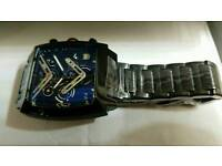 Tag Monoco Omega 007 Swiss ETA Automatic Movement Brand New box Papers £120