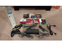 Xbox 360 with 20GB Hard Drive, Wired Controller, All leads & 7 Games