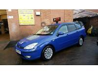 2002 Ford Focus TDCI Saloon - 3 Months Warranty