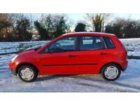 Ford fiesta 1.3 long MOT very economical cheap to insure &Tax perfect five door car