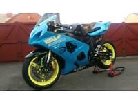 Gsxr750 k5 trackbike