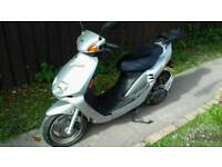 2x 57 Plate Sky Jet 49cc Mopeds