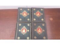 The National Burns Edited by George Gilfillm set of books - complete 4 volume.