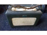 Vintage Roberts R66 Portable LW/MW Battery/Mains Radio