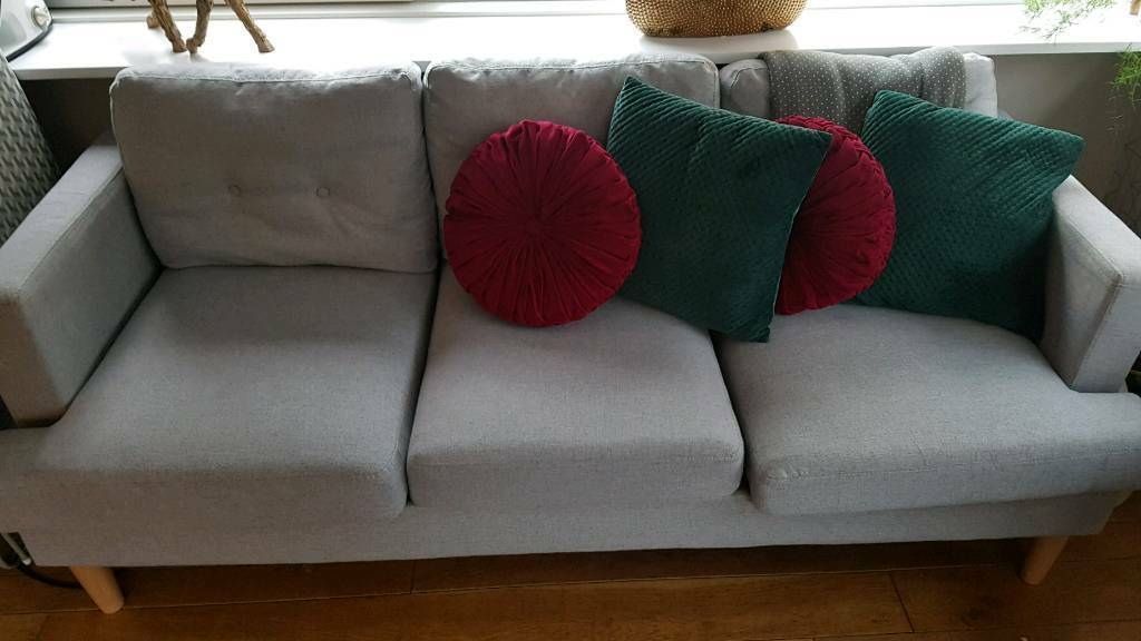 Awesome Argos 3 Seater Modern Sofa In Aberdeen Gumtree Download Free Architecture Designs Terstmadebymaigaardcom