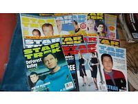 Star Trek magazines bundle - Open to offers
