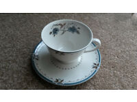 Royal Doulton Old Colony tea cup and saucer - pristine condition