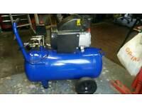 Air compressor 50 litre tank 120psi
