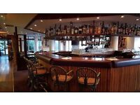 Part time Bar Staff wanted immediate start by Restaurant/Bar in Docklands, no late hours
