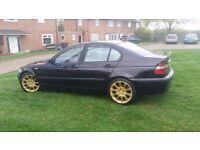 BMW 320D. Black. 2003