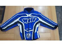 Motocross Wulf Sport Gear Blue Racing Top, Bottoms and Jacket