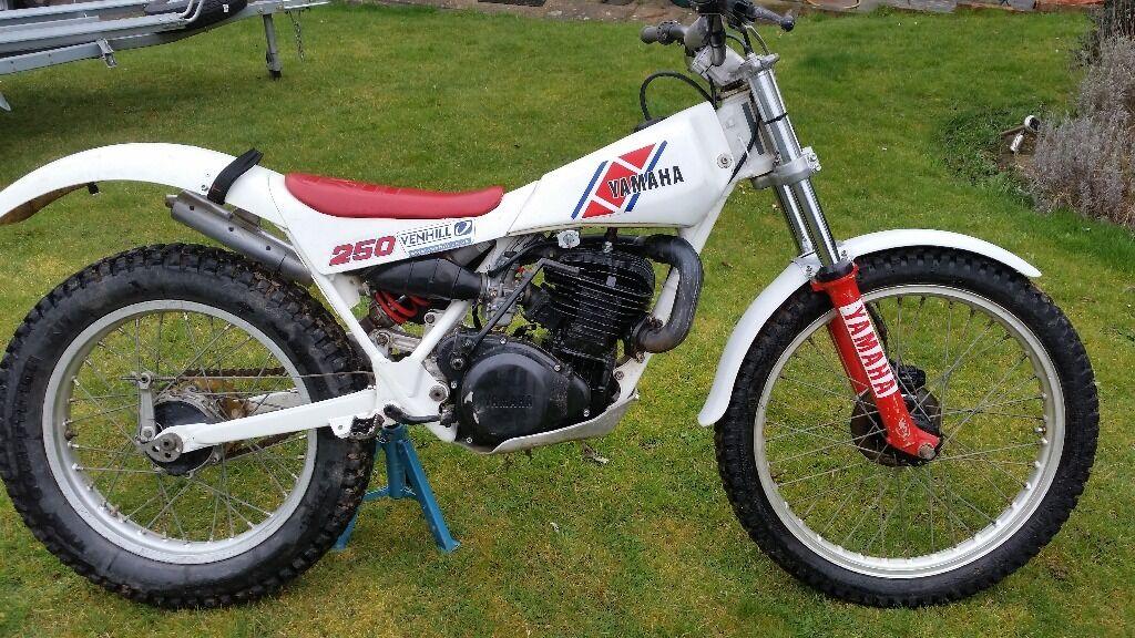 Yamaha Ty250s Mono Classic Trials Bike 1985 In Maidstone