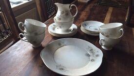 Royal grafton china tea set