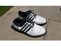 Adidas Mens Golf Shoes White. Size 10. Excellent Condition.