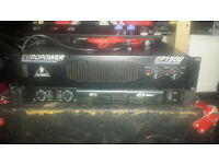 Behringer EP1500 Amplifier - 2 x 300W @ 4Ohm