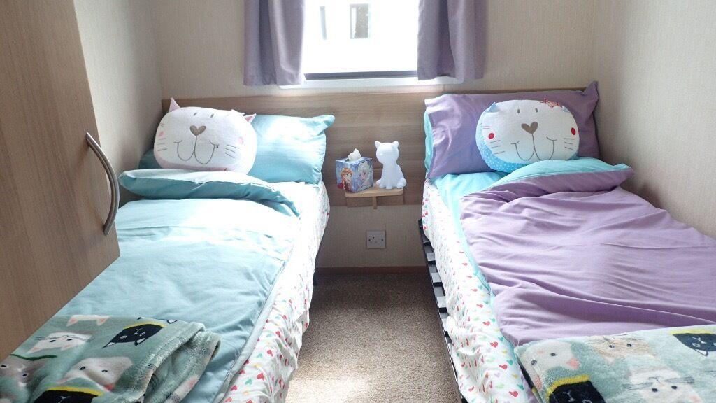Nana Van totally child friendly 3 Bedroom 8 berth Static caravan Bideford Bay Holiday Park.