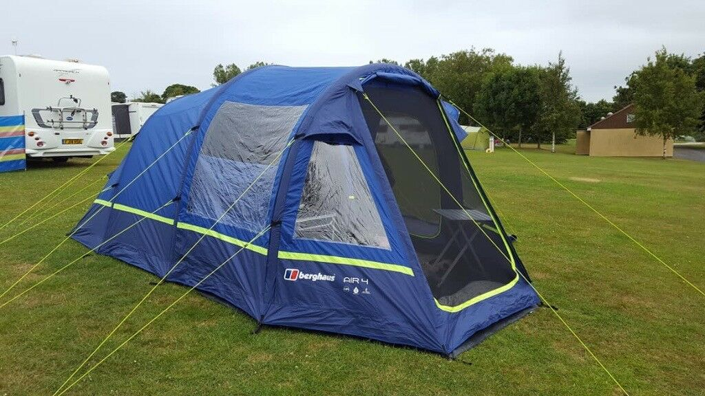 1e2ae45e4 Berghaus Air 4 Inflatable Tent (Used 3 times) - Excellent Condition - 4 ...