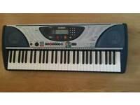 Yamaha Piano keyboard - 61 Touch Response keys
