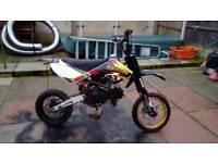 M2r 125 pit bike