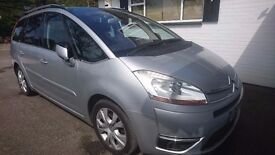 2007 CITROEN C4 PICASSO 2.0 GRAND EXCLUSIVE HDI 7 Seat low mileage