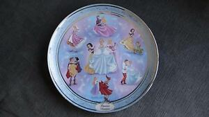 """Disney Princesses 'Once Upon a Dream' 12"""" Collector Plate"""