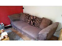4 seater sofa +chair