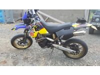 Husky 610 supermoto px for 125 crosser