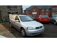 2005 Vauxhall Astra Van, 1.7CDTI, Sportiv, 3 Doors, Silver, 120k Miles, MOT October 17