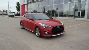 2013 Hyundai Veloster Turbo with Leather, 6 speed manual, Htd se