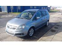 Vauxhall zafira 7 seater lpg gas
