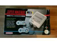 SNES Super Nintendo boxed Mario World edition