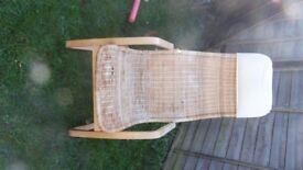 Wicker IKEA Chair large