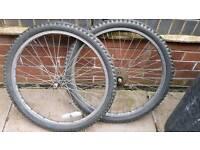 24inch bike wheels
