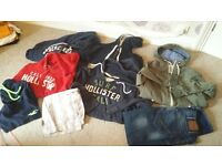 mens/boys designer clothes bundle
