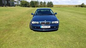 BMW 325 CI COUPE 2002 Plate in IMMACULATE CONDITION