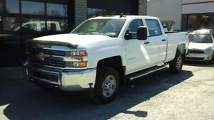 2015 Chevrolet SILVERADO 2500HD CREW CAB, 4x4, 6 PLACES