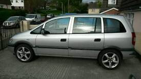 2005 Vauxhall Zafira 1.6 seven seater px may px