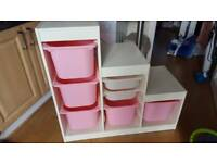 Ikea trofast storage. Kids