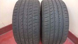 Porsche Rear Tyres. 2 New Radar Dimax Tyres 265 40ZR 18 101Y