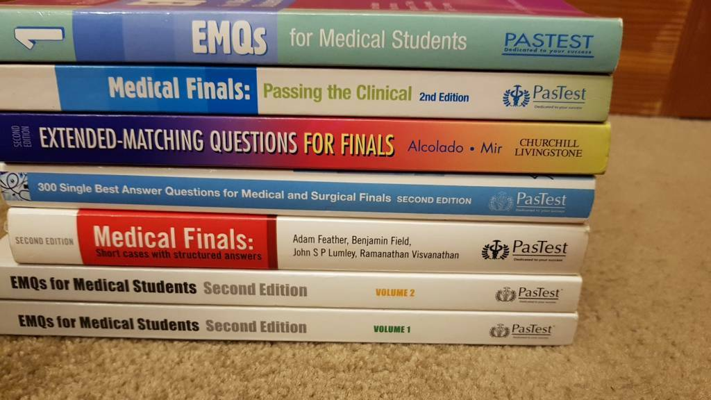 Medical finals revision books