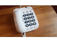 BT Big Button landline phone