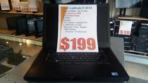 Dell Latitude e6510 - i5 Intel - Works Great- $199 Only !  1 Year Warranty