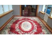 12ft by 9ft Chinese Rug ! Must Sell !