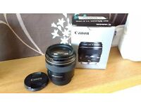Canon 85mm f1.8. hardly used